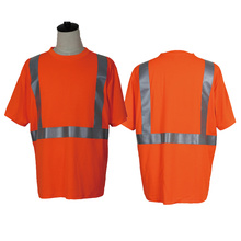 100 % polyester Safety vest and shirts