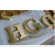 Brass Alphabet Letters Metal Letters for Signs