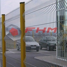 Green Color 3D PVC Coated Welded Fence