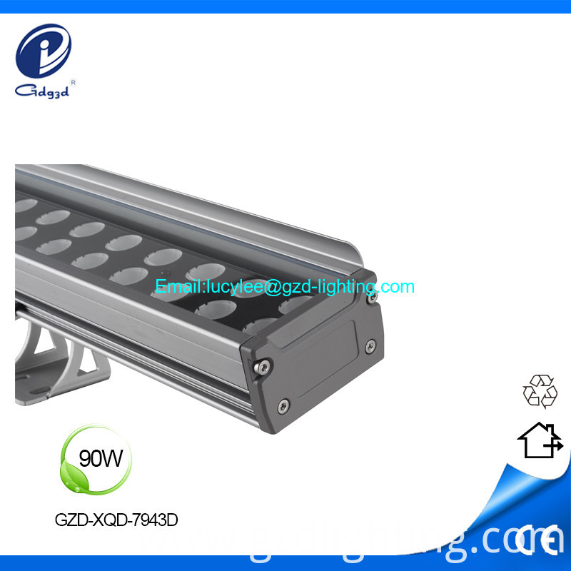 90W-lled wall washer