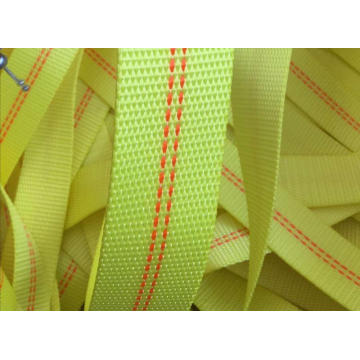 Industrial webbing for ratchet and sling