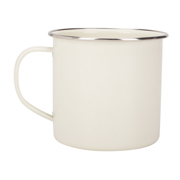 White Enamel Mug Print On Demand Factory