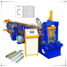 Galvanized CZ purlin roll forming machine