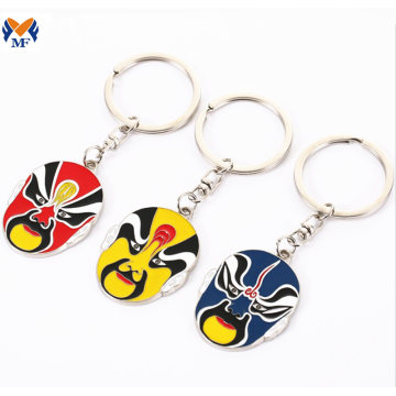 Wholesale Custom Metal Enamel Keychain