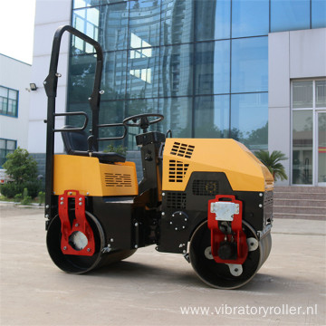 Ride-on Asphalt Road Roller Machine In Stock