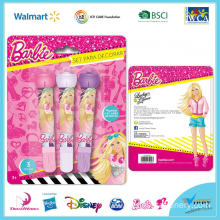 Barbie Roller Stamp Marker Set