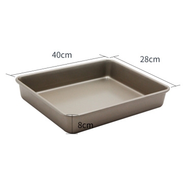 16-inch champagne gold non-stick baking tray