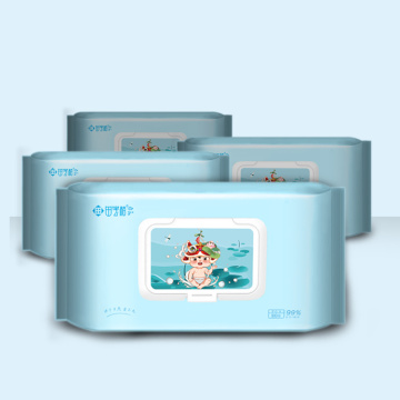 Private Label Water natural care OEM baby wipes