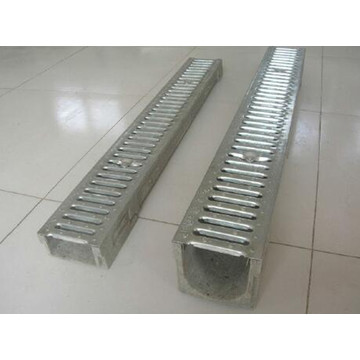 Middle Slot Linear U Type Drainage Channel