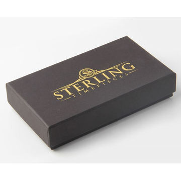 Small Boxes With Foil Logo For Car Accessory