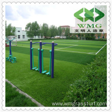 20mm Playground Rubber Flooring Fibrillated Grass