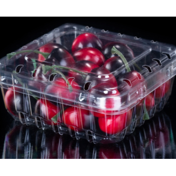 Disposable high transparent sealed blister fruit plastic box
