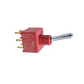 IP67 Mini Toggle Switches meet UL94v-0 flame retardant