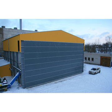 Industry high speed fast door for mining