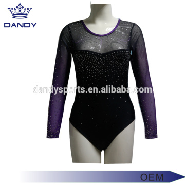 Oanpast ûntwerp College Fitness Dance Suit