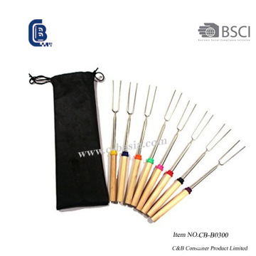 8PCS Telescopic Forks Set