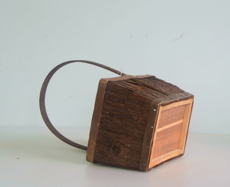 rectangular wood bark collecting basket-3