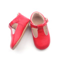 Fashion Toddler Baby T-bar Genuine Leather Dress Shoes