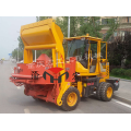 Roller concrete self-loading mixer