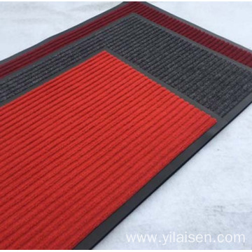 Colorful and beautiful PP entrance floor mat