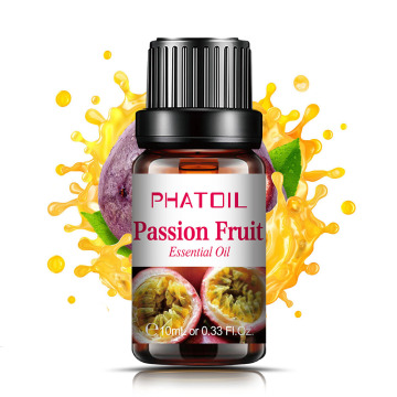 10ml 100ml Passion Fruit Fragrance Oil Diffuser Strawberry Cherry Mango White Musk Baby Powder Coconut Oil for Soap Making