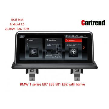 Android 9.0 Multimedia Player барои BMW 1 Силсила
