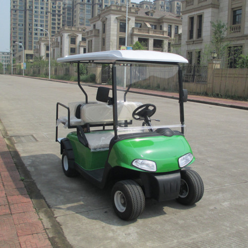 4 seater electric mini golf cart with electric power