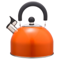 3.5L Stainless Steel color painting Teakettle orange color