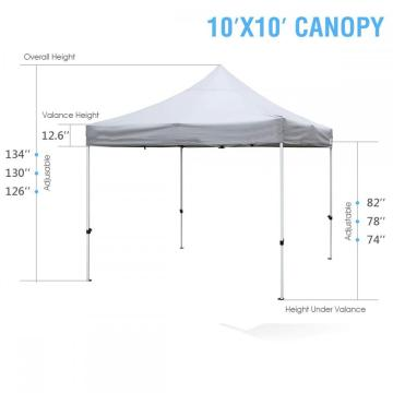 Luxury lightweight waterproof outdoor metal gazebo sale