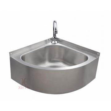 Stainless steel triangle corner sink