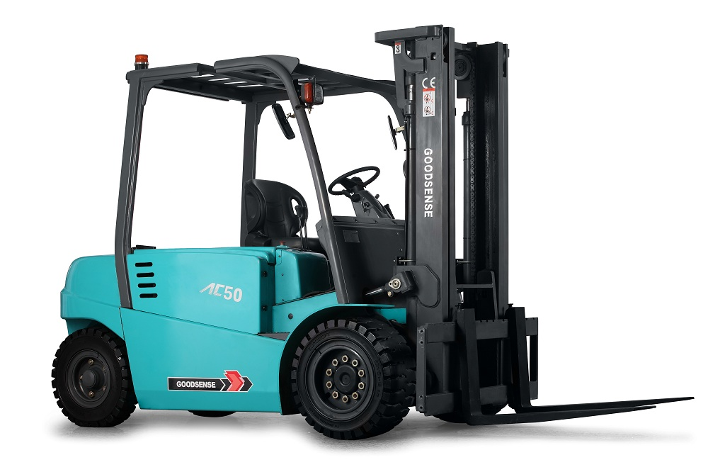 4-Wheel Electric Forklift