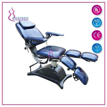Professional female facial massage hydraulic massage chair