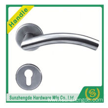 SZD STH-108 Solid Stainless Steel Orbit 8Mm Door Lever Handle On Round Rose 304 with cheap price