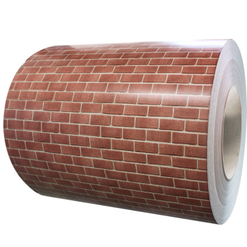 Brick decotaction steel sheet