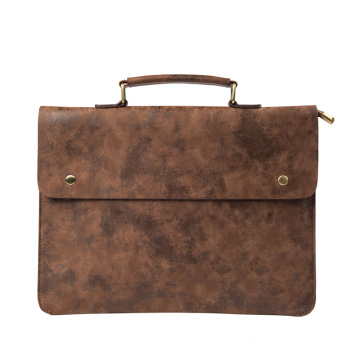 PU Leather Briefcase Ideal Laptop Tote Bags Case