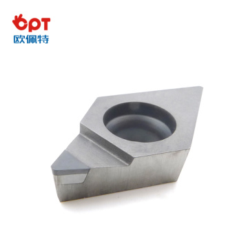 PCD diamond indexable insert CNC diamond cut tips