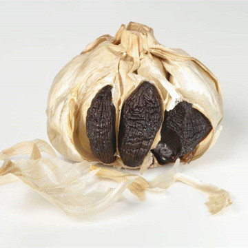 250g Black Garlic with Skin in Jar