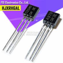 100pcs 2SA970 2SC2240 (50PCS* A970 +50PCS* C2240 ) TO-92 Bipolar Transistors - BJT NPN New original