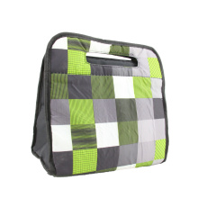 Fluorescent Green Eye Catching Printed Cooler Bag