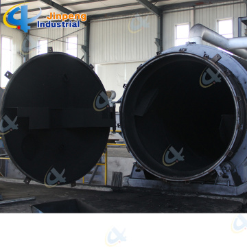 Factory Price Waste tire pyrolysis to Oil Machine