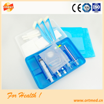 Sterile Spinal-Epidural anesthesia tray for hospital