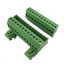 12pin 5.08mm pitch din rail Mounted terminal block