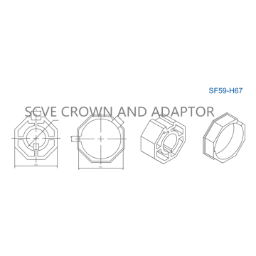 Accessories Crown and Adaptor SF59Series