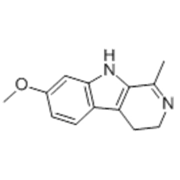 3H-Pyrido[3,4-b]indole,4,9-dihydro-7-methoxy-1-methyl- CAS 304-21-2
