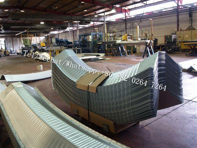 K Steel type SPAN ARCH STEEL ROOF BUILDING MACHINE