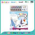 DISNEY FROZEN colouring set