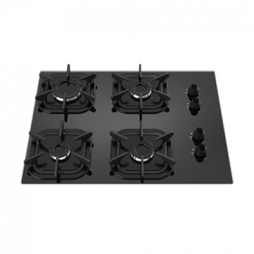 Mueller 4 Burner Stove Black Top