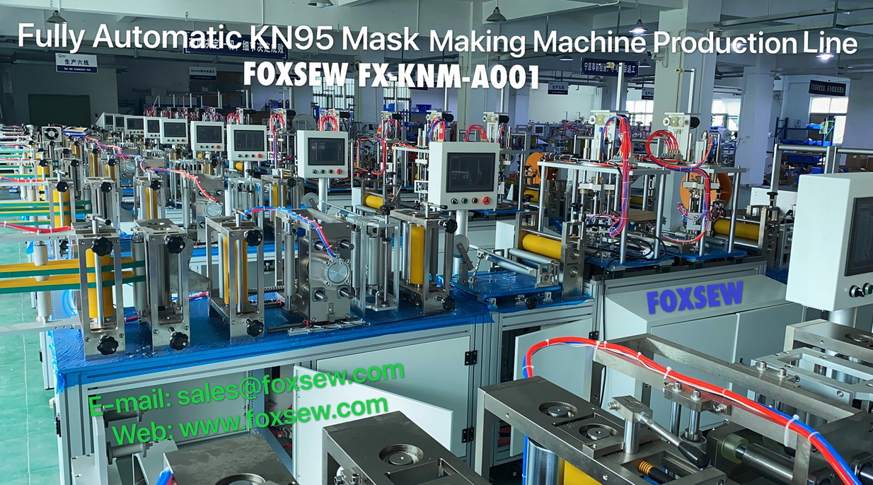 Fully Automatic KN95 Mask Making Machine -2