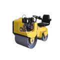 Ride-on full hydraulic road roller