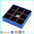 Empty Heart Shape Edible Chocolate Packaging Gift Box